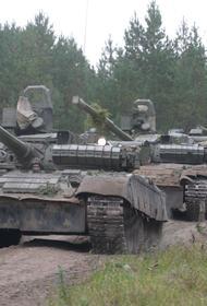 Крутое танковое «дефиле» прошло под Челябинском