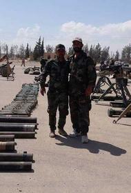Сирийские силовики изъяли большое количество контрабандного оружия
