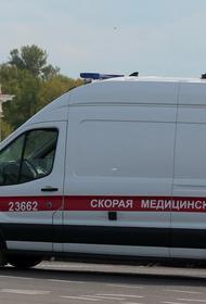 В Петербурге автомобиль скорой помощи наехал на женщину
