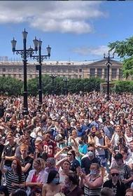 В Хабаровске впервые не состоялось дневное шествие в поддержку Фургала