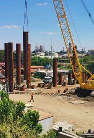 В Краснодаре завершается первый этап строительства дублера Яблоновского моста