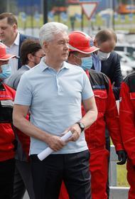 Собянин открыл вторую очередь транспортной развязки у метро «Саларьево»