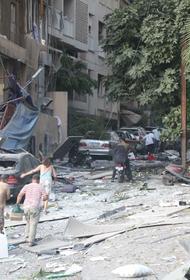 В порту Бейрута в результате взрыва затонул круизный лайнер