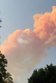 Эксперт рассказал, почему в Бейруте после взрыва был розовый дым