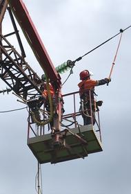 В Белореченском районе закончен ремонт ключевой высоковольтной ЛЭП