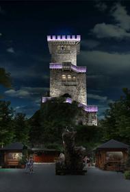 В Сочи открылся аттракцион «Ночной Ахун»