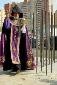 В Челябинске освятили фундамент армянской церкви