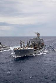 Появилось сообщение о бегстве из-за сил РФ устроивших провокацию в Черном море кораблей НАТО