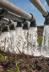 В Крыму водопроводные войска российской армии прокладывают трубопровод  из Тайганского в Симферопольское водохранилище
