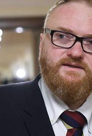 Милонов назвал плюсы бизнес и эконом-класса для чиновников