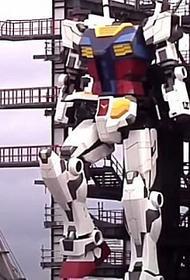 В Японии запустили 18-метрового робота без головы -  прародителя популярных «Трансформеров»