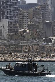 Сотрудники МЧС России завершили поисково-спасательные работы на месте взрыва в Бейруте