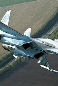 Российский истребитель перехватил американский самолет-разведчик над Черным морем