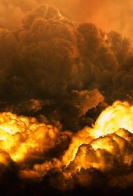 Опубликовано видео с места взрыва на заправке в Волгограде