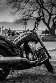В Кузбассе сотрудники ГИБДД обнаружили краденный мотоцикл