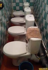 В иркутской школе построили туалеты, которыми никто не может воспользоваться. Уже два года