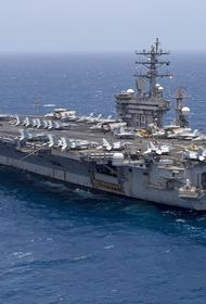 Sohu поведало о «бегстве» авианосца США из Средиземного моря из-за российской подлодки