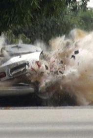 На северо-востоке Сирии взорвался начиненный тротилом пикап
