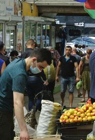 Рынок в маске: рынок на Тихой проверили на соблюдение правил