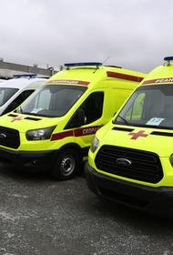 Благотворительный фонд РМК купил для южноуральских больниц новые скорые