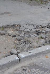 Хабаровчане жалуются на разруху в городе