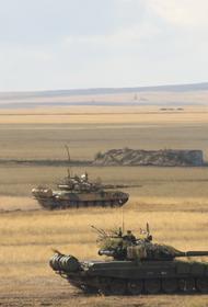 Две армии ЦВО провели основной этап учений на полигонах в Кемеровской и Оренбургской областях