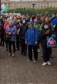 День 36-й: тысячи хабаровчан вновь вышли в поддержку Фургала