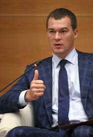 Врио главы Хабаровского края вошел в комиссию по развитию ДФО