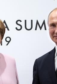Меркель и Путин по телефону обсудили ситуацию в Белоруссии
