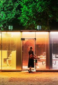 В Японии сделали прозрачные общественные туалеты