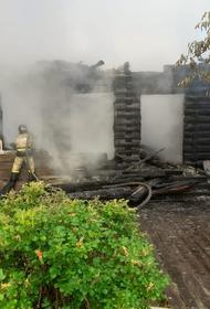 В деревне  Лодейка под Великим Устюгом сгорела деревянная школа