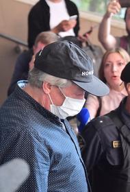 Ефремов приехал в Пресненский суд на слушание дела о ДТП со смертельным исходом