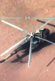 Войскам ПНС в Ливии достался брошенный вертолет Ми-17, российского производства