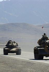 Турция перебрасывает войска в Сирию