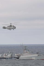Флот и морская авиация провели тыловые учения в Черном море