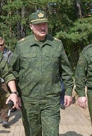 Лукашенко заявил, что ситуация в Белоруссии развивается по сценарию «цветных революций»