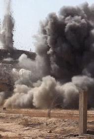 Мирные жители подорвались на мине в Сирии
