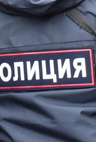 На стройке на территории госпиталя в Москве загорелся и взорвался грузовик