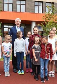 В Москве 1 сентября впервые распахнут свои двери 18 школ и детсадов