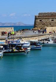 Взрыв прогремел на пассажирском судне на Крите
