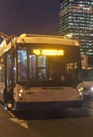 С 25 августа в Москве прекратилось движение троллейбусов, но один маршрут останется