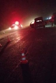 В Приморье водитель сбил инспекторов ДПС и скрылся с места аварии