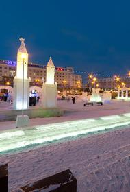 В центре Челябинска появится ледяная скульптура Юрия Гагарина