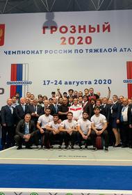Девять золотых медалей заработали кубанские тяжелоатлеты на чемпионате России