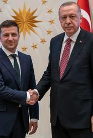 Зеленский ждёт от Эрдогана военной помощи для возврата Крыма