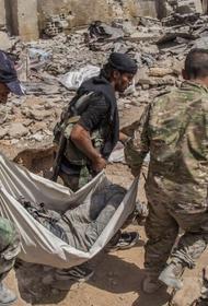 «Черный халифат» активизирует военные действия в Сирии