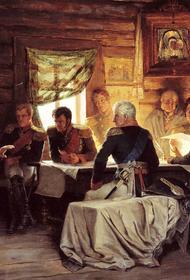 30 августа 1812 года русская армия начала отступление из Царева Займища на восток
