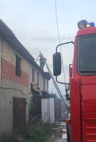 В Подмосковье загорелись 12 гаражей, площадь пожара составила 300 кв. метров