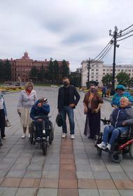 Онлайн-карты Хабаровска станут информативнее для людей с ОВЗ
