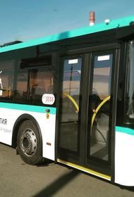 В Челябинске запустили тестовый автобус на экологически чистом топливе